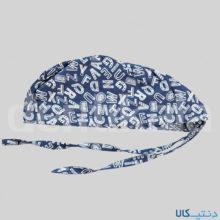 کلاه طرح حروف سفید – شایگان
